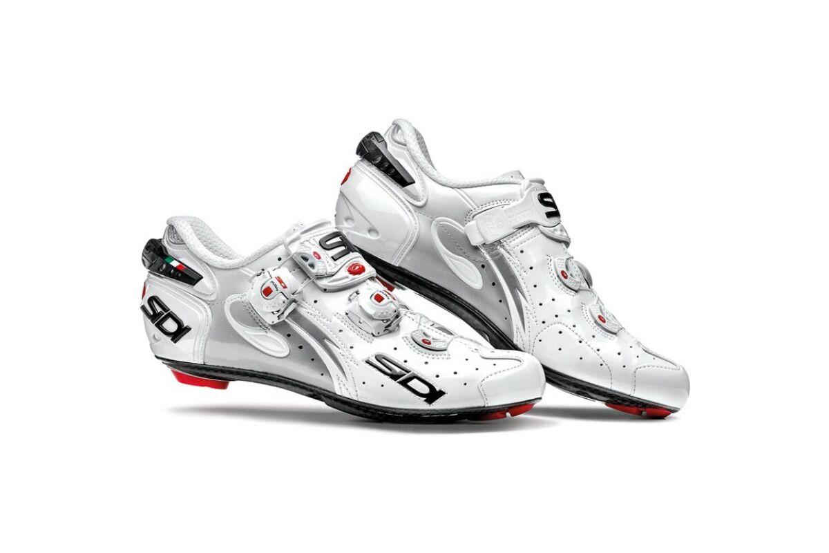 06af9ea95b Sidi Wire Carbon Vernice országúti cipő, 40, fehér