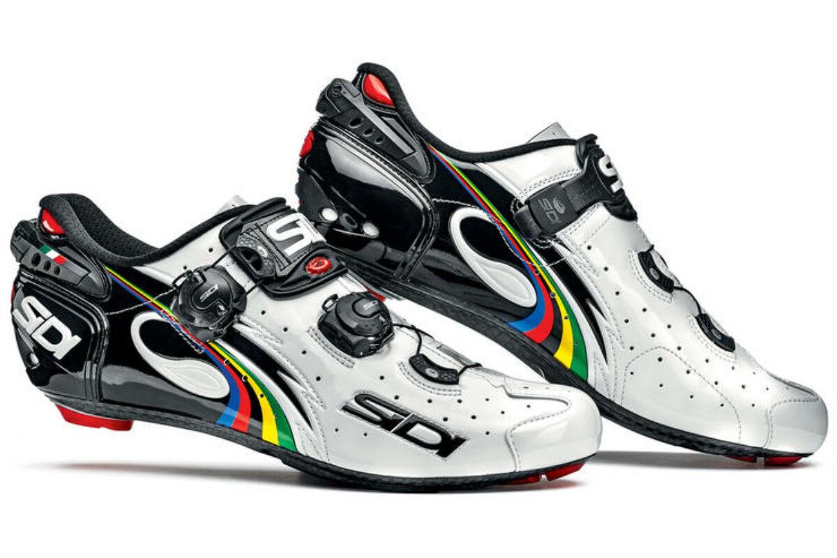 ef31ebfcaf Sidi Wire Carbon Vernice országúti kerékpáros cipő, 45, fehér-fekete