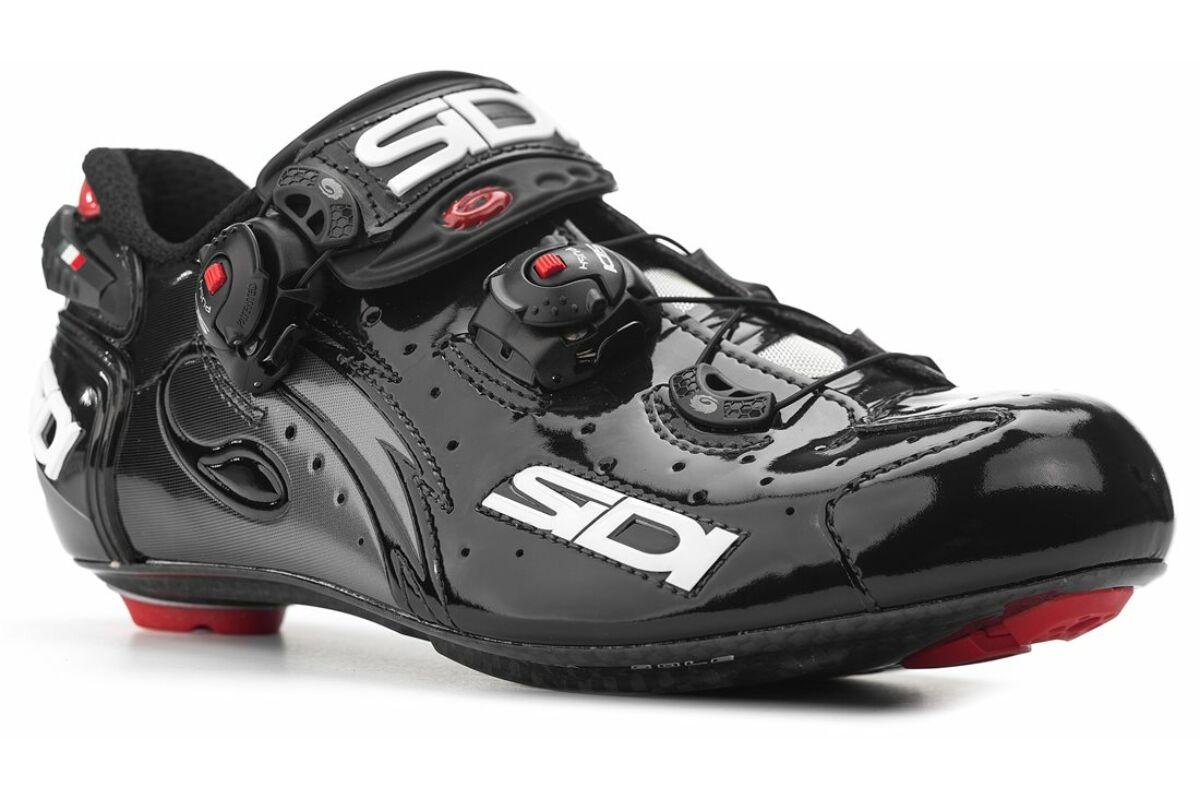 f3a00c2e56 Sidi Wire Carbon Vernice országúti kerékpáros cipő, 43, fekete