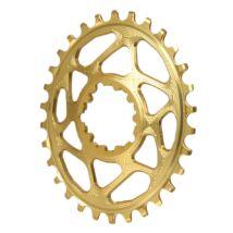 absoluteblack oval direct mount sram gxp 30t narrow wide arany lánckerék