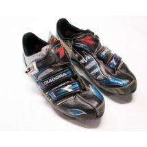 diadora kék fekete ezüst mtb cipő