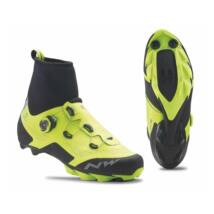 northwave raptor arctic gtx neon sárga yellow fluo téli mtb kerékpáros cipő