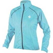 specialized outwear rain világoskék női kerékpáros széldzseki