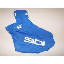 sidi kék lycra kerékpáros cipőhuzat