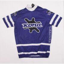 kona road jersey lila rövid ujjú kerékpáros mez