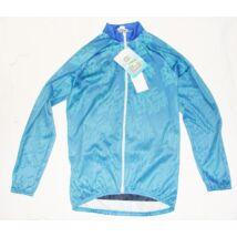 elastic tarka-kék thermo kerékpáros hosszú ujjú mez