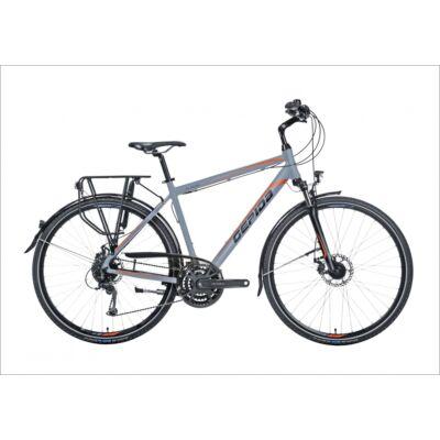 """Gepida Alboin 300 PRO 28"""" trekking kerékpár, 3X8 sebességes, 56cm, szürke"""