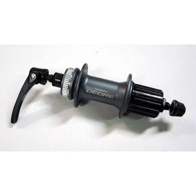 Shimano Deore FH-M615 8 9 10 sebességes center lock 32 lyukas szürke hátsó agy