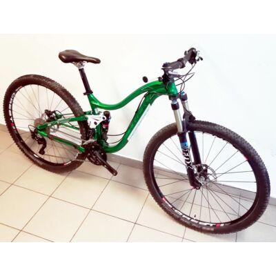 """Trek Lush SL 29"""" Custom MTB összteleszkópos kerékpár, 16"""", zöld, használt"""