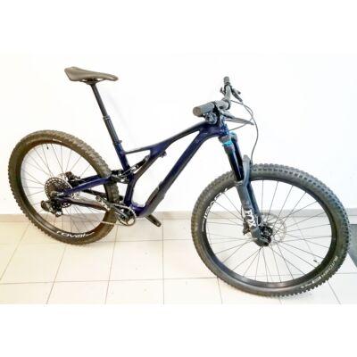 Specialized Stumpjumper ST Comp Carbon NX Eagle, összteleszkópos MTB kerékpár, M-es, kék, használt