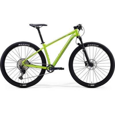 """Merida Big Nine 2020 29"""" SLX-ED MTB kerékpár, 1x12 sebességes, L, fényes zöld-fekete"""