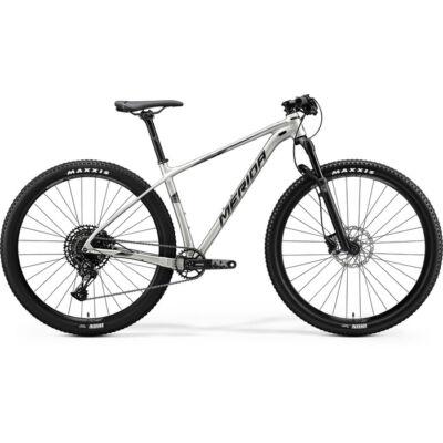 """Merida Big Nine 2020 29"""" NX-ED MTB kerékpár, 1x12 sebességes, L, selyem titán-ezüst"""