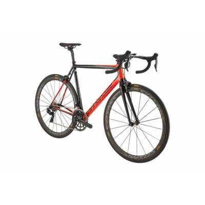 Cannondale SuperSix EVO Hi-MOD Dura-Ace Di2 országúti kerékpár, 54 cm, fekete-piros