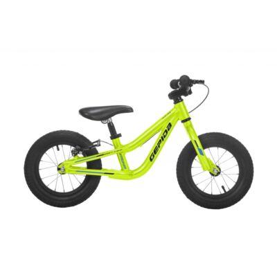 """gepida auha 12"""" aluminium vázas gyerek tanulókerékpár, sárga"""