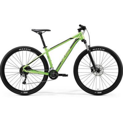 merida big nine 200 29 mtb kerékpár zöld-fekete