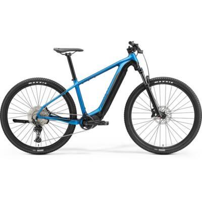 """Merida eBig Nine 600 29"""" MTB kerékpár, L-es, kék-fekete"""