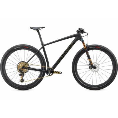 Specialized S-Works Epic HT Ultralight 2020 MTB kerékpár, 1x12 sebességes, M, fekete-arany