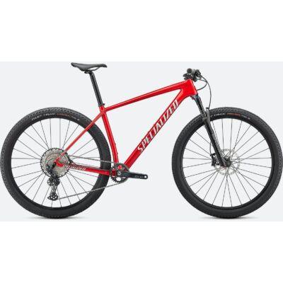 "Specialized Epic Comp Carbon 29"" MTB kerékpár, M-es, metálpiros"