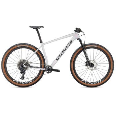 """Specialized Epic HT Pro Carbon 29"""" AXS Eagle MTB kerékpár, L-es, gyöngyházfehér-fekete"""