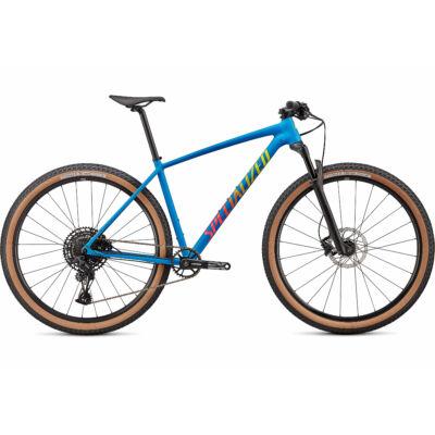 Specialized Chisel Comp MTB kerékpár, 1x12 sebességes, L, kék-sárga