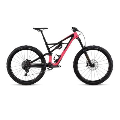 """Specialized Enduro Elite 27.5"""" összteleszkópos MTB kerékpár, M-es, pink-fekete"""