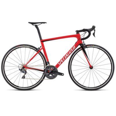 Specialized Tarmac SL6 Expert Carbon Ultegra 2x11 sebességes országúti kerékpár, 58cm, piros-fekete