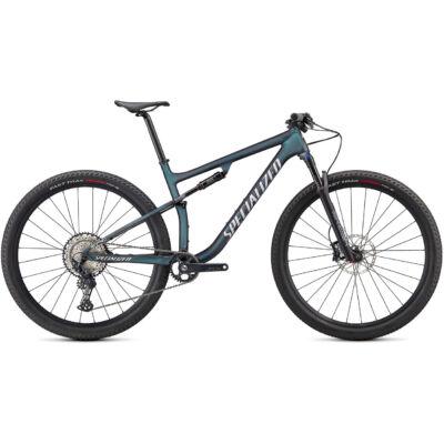 """Specialized Epic Comp Carbon 29"""" 1x12 sebességes összteleszkópos MTB kerékpár, L-es, zöldesszürke-ezüst"""