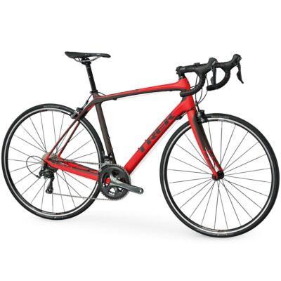 trek domane s 4 carbon országúti kerékpár 54cm piros