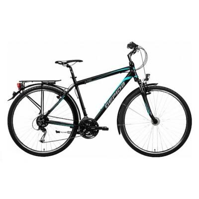gepida alboin 200 2017 fekete kék trekking kerékpár