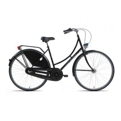 """Gepida Amsterdam Nexus 3 28"""" női, városi kerékpár, 3 sebességes, 54cm, fekete"""