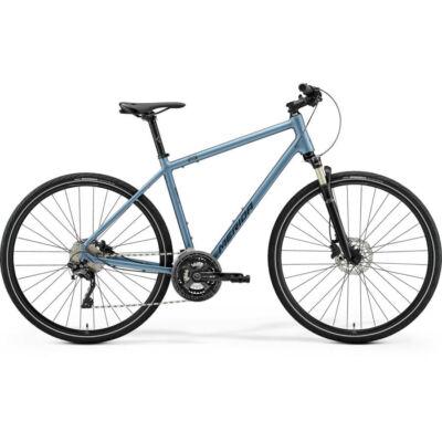 Merida Crossway XT-Edition cross kerékpár, S-es, acélkék