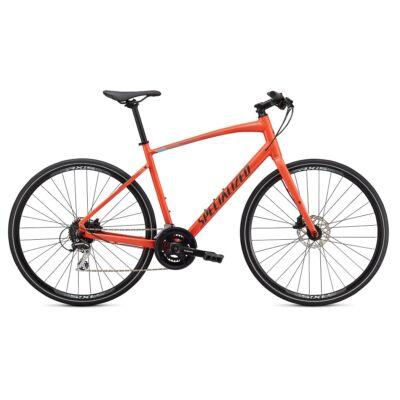 Specialized Sirrus 2.0 3x8 sebességes fitness kerékpár, XL, korall-fekete