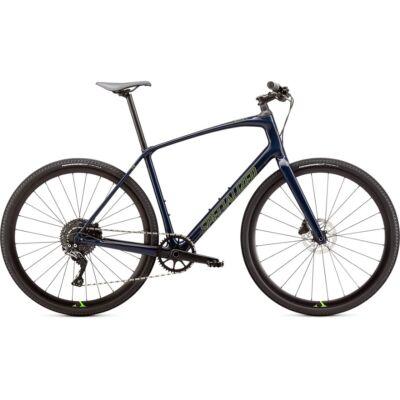 specialized sirrus x 5.0 fitnesz kerékpár slx 1x11s sötétkék