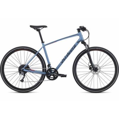 Specialized Crosstrail Sport trekking kerékpár, 2x9 sebességes, L, kék