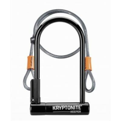 Kryptonite Keeper 12 STD U-lakat + 4 Flex hurokkábel