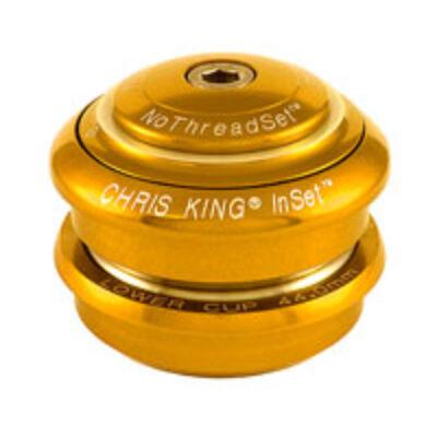 """chris king inset félintegrált 1-1/8"""" ahead arany kormánycsapágy"""