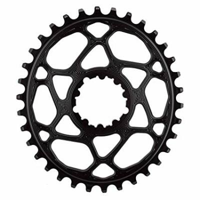 AbsoluteBlack Oval Direct Mount Shimano XTR M9100/9120 Narrow/Wide lánckerék, 34t fekete