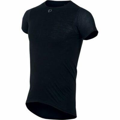 Pearl Izumi Transfer Short Sleeve Baselayer rövid ujjú aláöltözet, S fekete