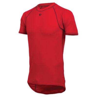 pearl izumi transfer short sleeve baselayer piros rövid ujjú alsóruha