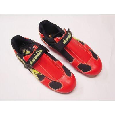 diadora piros fekete sárga mtb cipő