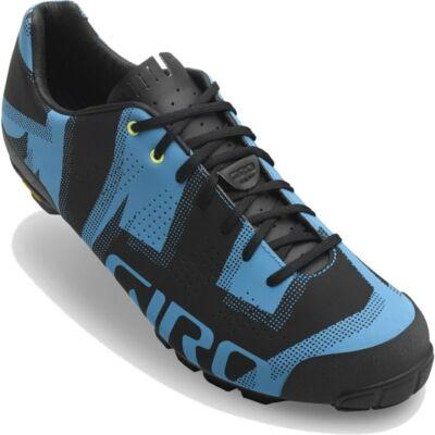Giro Empire VR90 MTB cipő, szürke-kék, fényvisszaverő grafikával, 44