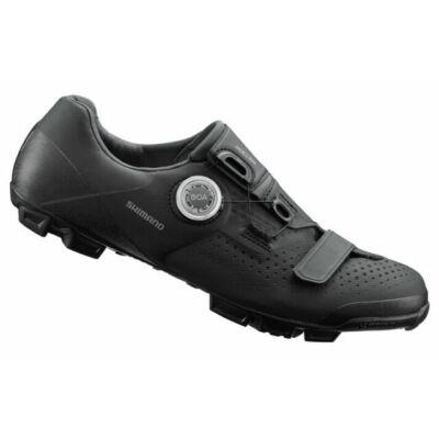 Shimano XC5 kerékpáros MTB cipő fekete