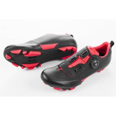 Fizik Terra X5 MTB kerékpáros cipő, 42,5, fekete-piros