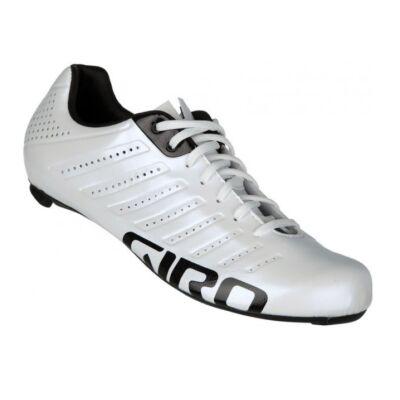 Giro Empire SLX kerékpáros országúti cipő, fehér-fekete, 44,5
