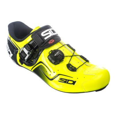 sidi kaos országúti kerékpáros cipő sárga 48