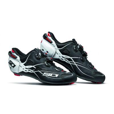 sidi shot carbon srs kerékpáros országúti cipő, fekete-fehér