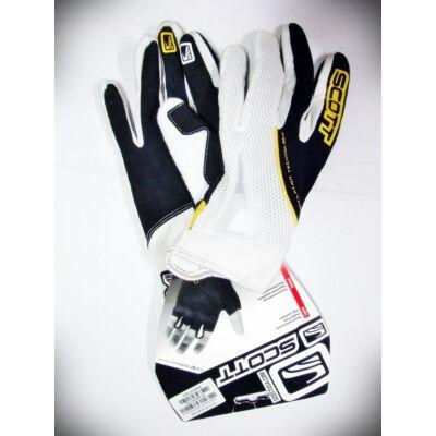 scott xc fekete rc sárga hosszú ujjú kerékpáros kesztyű