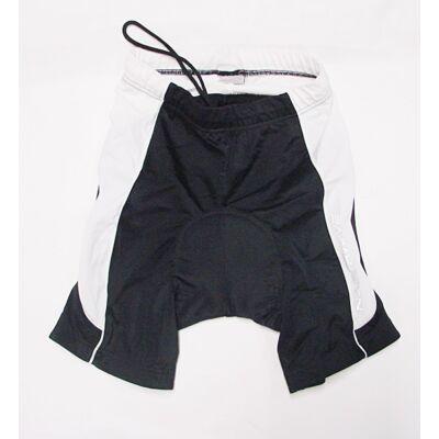 Northwave Verse Lady Pants betétes női kerékpáros rövidnadrág, XL fekete-fehér