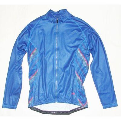agu kék thermo kerékpáros hosszú ujjú mez