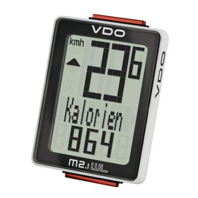 vdo m2.1 wl vezeték nélküli kerékpár computer